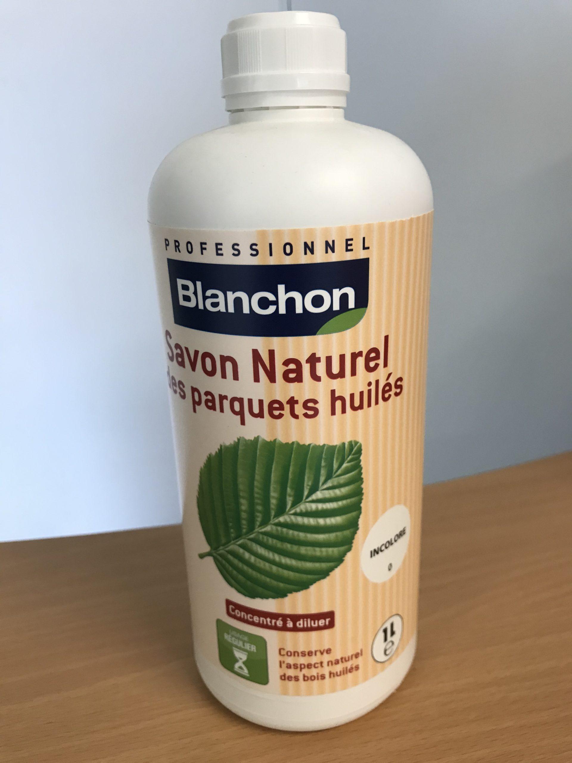BLANCHON Savon naturel - Les parquets huilés