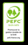 LOGO PEFC - Parqueterie Prévost certifiée
